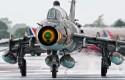 Su-22 in the rain